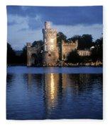 Blackrock Castle, River Lee, Near Cork Fleece Blanket