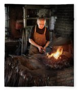 Blacksmith - Blacksmiths Like It Hot Fleece Blanket