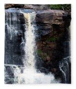 Blackwater Falls #5 Fleece Blanket