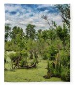 Blackwater Swamp Fleece Blanket