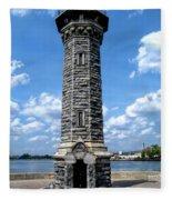 Blackwell Island Lighthouse Fleece Blanket