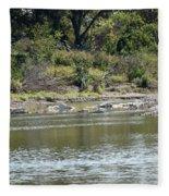 Blanco River - Texas Fleece Blanket
