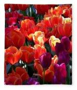 Blankets Of Tulips Fleece Blanket