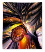 Blaze Abstract Fleece Blanket