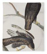 Blck Warrior Fleece Blanket