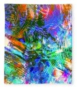 Bleached Vibrance Fleece Blanket