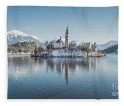 Bled Island Winter Dreams Fleece Blanket