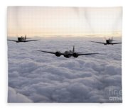 Blenheim And The Fighters Fleece Blanket