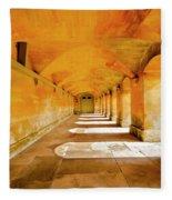 Blenheim Arches Fleece Blanket