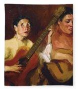 Blind Singers 1912 Fleece Blanket