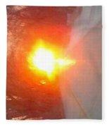 Blinding Iowa Sunrise Fleece Blanket