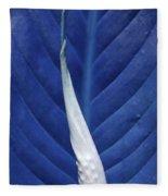 Blissfully Blue Fleece Blanket