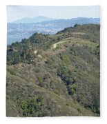 Blithedale Ridge On Mount Tamalpais Fleece Blanket