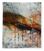 Blood From A Stone Fleece Blanket