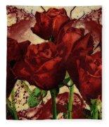 Blood Red Lust Fleece Blanket
