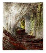 Blood Redwoods Fleece Blanket