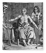 Blood Transfusion From Dog To Man, 1692 Fleece Blanket