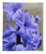 Bloomin Blue Fleece Blanket