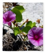 Bloomin Cross Vine Fleece Blanket