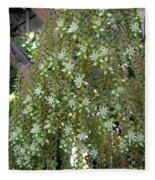 Blooming Succulent Plant. Big And Beautiful Fleece Blanket