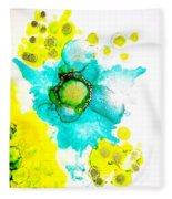 Blooms Fleece Blanket