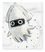 Blooper Watercolor Fleece Blanket
