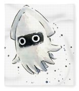 Blooper Watercolor Fleece Blanket