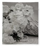 Blossom And The Bee Cornucopia  Fleece Blanket