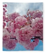 Blossom Bliss Fleece Blanket