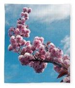 Blossom Impressions Fleece Blanket