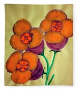 Blossom In High Spirit #6 Fleece Blanket