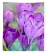 Blossoming Souls Fleece Blanket