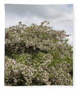 Blossoming Tree Fleece Blanket