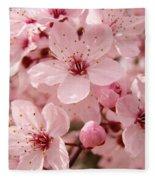 Blossoms Art Prints 63 Pink Blossoms Spring Tree Blossoms Fleece Blanket