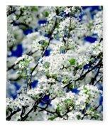 Blossoms Fleece Blanket