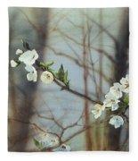 Blossoms In The Wild Fleece Blanket