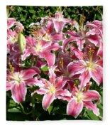 Blossoms Of Chase Lane Fleece Blanket
