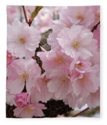 Blossoms On Bark Fleece Blanket