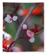 Blossoms Petite Fleece Blanket
