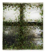 Blotted Out Fleece Blanket