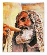 Blow The Trumpet In Zion Fleece Blanket