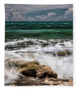 Blowing Rocks Preserve  Fleece Blanket