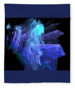 Blue Angel Fleece Blanket