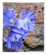 Blue Angel - Iris Fleece Blanket