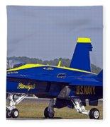 Blue Angel Fleece Blanket
