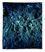 Blue Archaeology Fleece Blanket