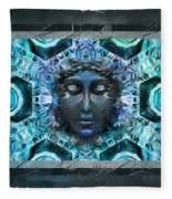 Blue Atheahon  Fleece Blanket