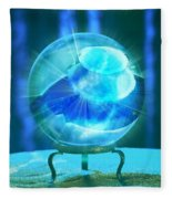 Blue Ball Fleece Blanket