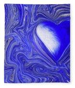 Blue Beats Fleece Blanket