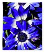 Blue Beauties Fleece Blanket